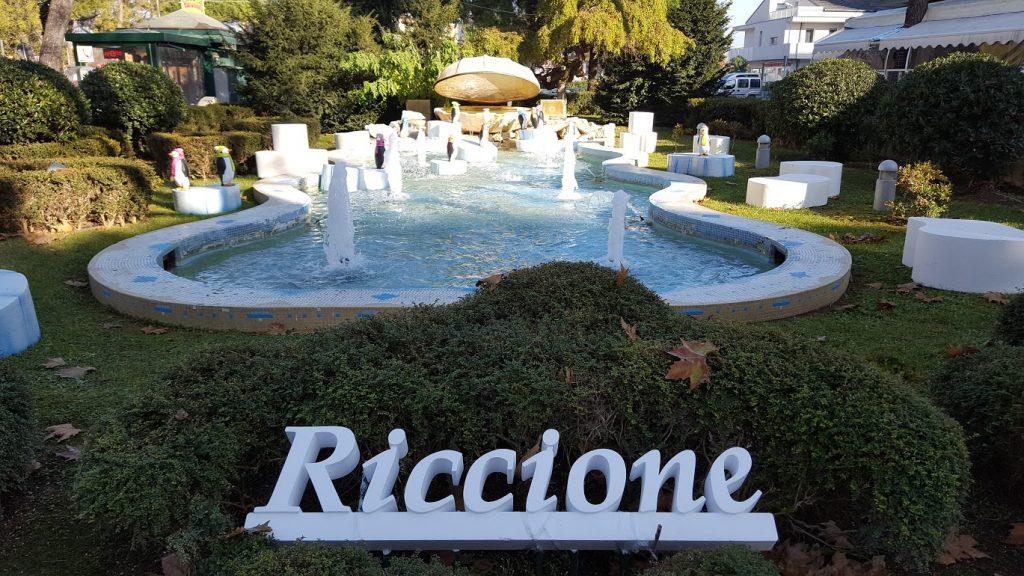 Natale a Riccione, perla verde e pinguini